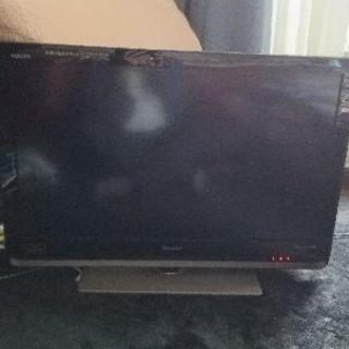 【難有り】32型Blu-ray内蔵シャープ液晶テレビ