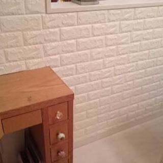 北欧 クッションシート二枚セット DIY レンガ調 壁紙