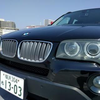 車検2年付2008年式BMW X3 2.5si 71,500km