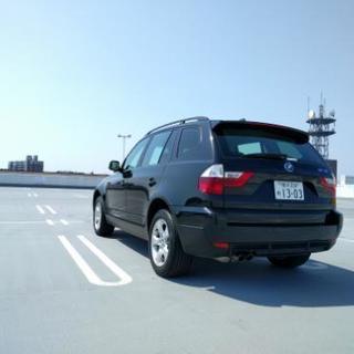 車検2年付2008年式BMW X3 2.5si 71,500km − 神奈川県