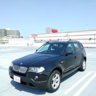 車検2年付2008年式BMW X3 2.5si 71,500km - 横浜市