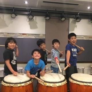 小学生の和太鼓教室 - 音楽