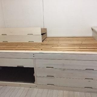組み立て式 すのこベッド