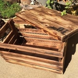 かわいい木箱
