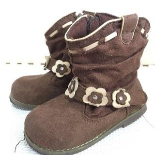 子供靴  スエードブーツ