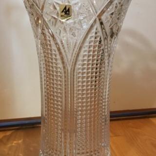 アデリアクリスタル花瓶(石塚硝子)