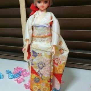 レア★旧タカラ★着物ジェニー 人形  検)リカちゃん
