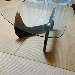 新古品★ノグチテーブル(リプロダクト) ガラステーブル★ウォールナット