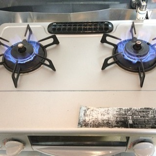 【買い手決まりました】リンナイ RTS-338WNTS ガスコンロ/ガスレンジ/ガステーブル 水有り片面焼きグリル コンパクト56cm幅 - 家電