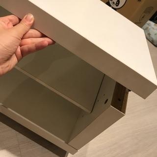 ニトリ テレビ台 ホワイト - 家具