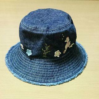 【GAP】デニム 帽子 44㎝