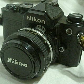 ニコンNikon FM 一眼レフ フィルムカメラ 動作保障無し