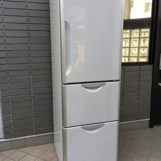 大分県 日立 真空チルドV 302L 3ドア 冷凍 冷蔵庫 R-S...
