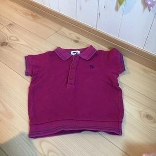 ☆★秋のオシャレに★☆【アーノルドパーマー90】紫色ポロシャツ