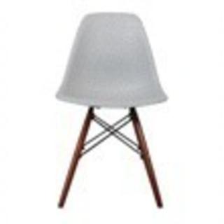 新品未使用 オシャレな椅子 ライトグレー