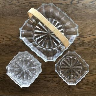 ガラス皿セット