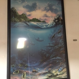 海をテーマにした絵画(印刷もの)