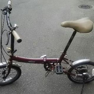 値下げしました!ミニクーパーの折り畳み自転車