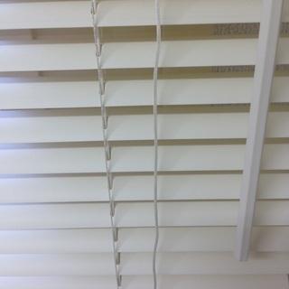 ニトリ ブラインド(白色) ※平日10-17時の引き取りのみ