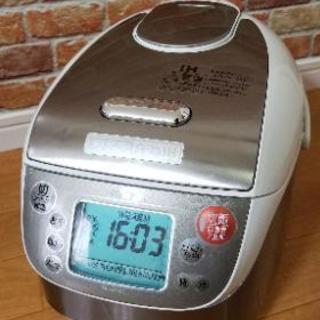 【美品】MITSUBISHI 5.5合炊 炊飯器 超音波 圧力IH...