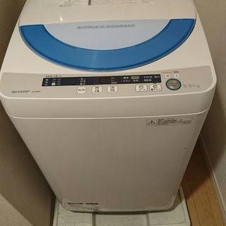 洗濯機、差し上げます。