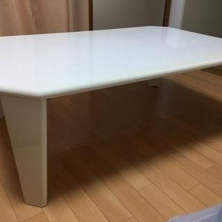 折り畳み アシスタントテーブル 白 ホワイト
