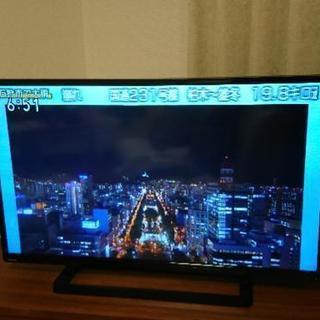 東芝 40型 液晶 REGZA 40S8 フルハイビジョン、一緒に...