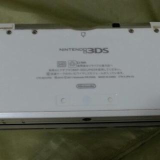 中古3DS 白 本体充電器のみ
