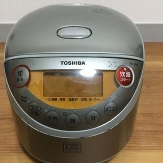 08年製東芝IH炊飯器 3.5合炊き 内蔵電池切れ