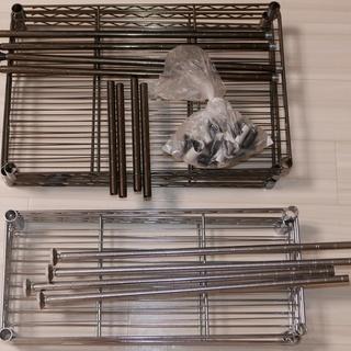 メタルラック ミニシェルフ (45×30×65 3段・45×20×...