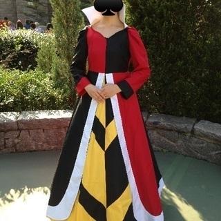 不思議の国のアリス ハートの女王衣装