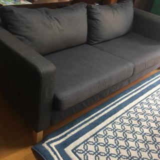 IKEA 三人掛けソファー カウチ