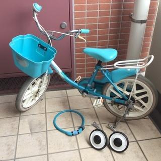 16インチ 子ども用自転車差しあげます
