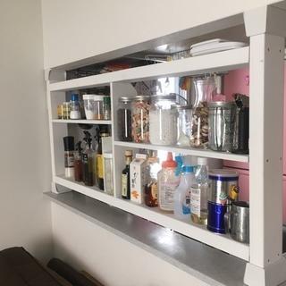 キッチン ラック 見せる収納 棚