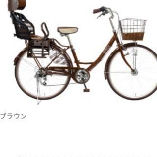 子供乗せ自転車  探してます!