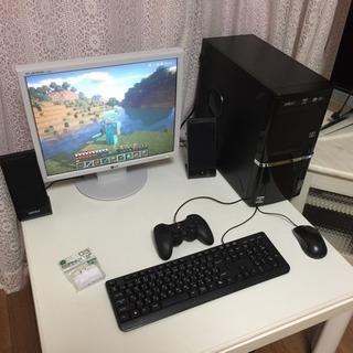★マイクラPC★影MOD対応 SSD搭載4コア メモリ8GB モニ...