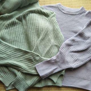 美品セーター2枚セット
