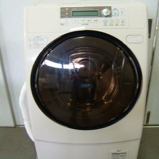 ドラム式洗濯乾燥機 サンヨー AQUA エアウォッシュ 洗濯槽クリ...