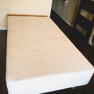 無印良品 脚つきマットレス ベッド長178cm