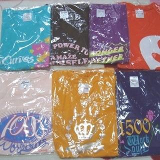 ★未開封14点!!「カーブス」のTシャツ&タオル&靴下などのオリジナルグッズまとめて★  - 萩市