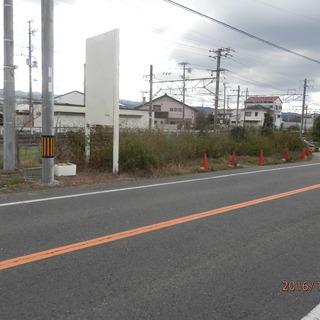 長滝駅 大阪側に150m 道路沿い約20坪 60万で売ります 間口...