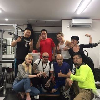 WORK OUT GYM    POWER HUT