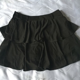 【55】黒 ミニスカート