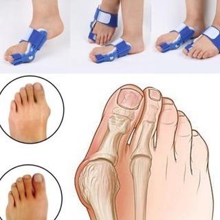 新品未使用柔らかフィット外反母趾サポーター2袋セット