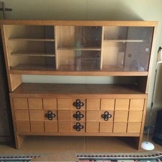 木製 食器棚
