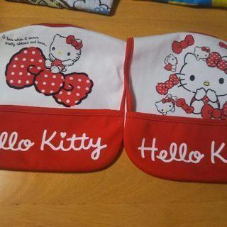 キティちゃんのスタイ 2枚セット♪