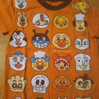 アンパンマンの半袖シャツ 90㎝