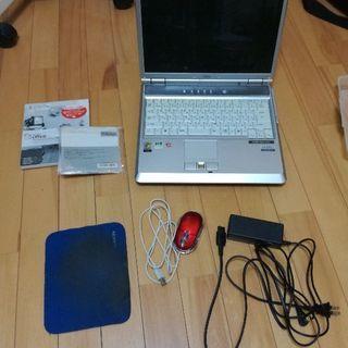 OSなしパソコン(FMV-BIBLO NB40S)