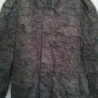 大きいサイズ3Lカモフラージュジャケット