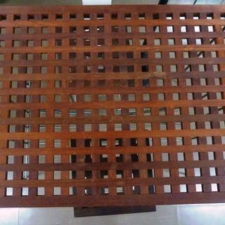 【ハンズクラフト博多店】デザインテーブルイス2脚セット 中古品